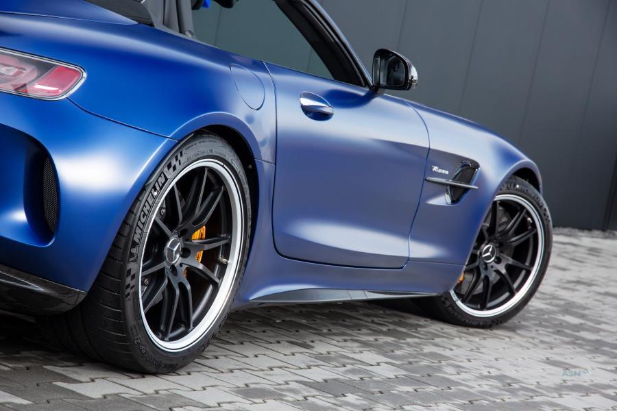 معرفی مرسدس AMG GT R پوزیدون