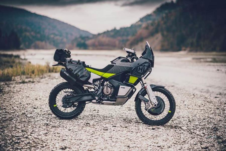 موتورسیکلت هاسک وارنا نوردن 901 در سوئد !