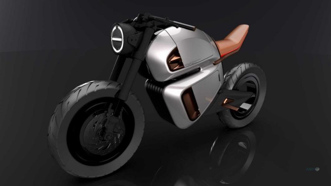 موتورسیکلت هیبریدی NAWA Racer
