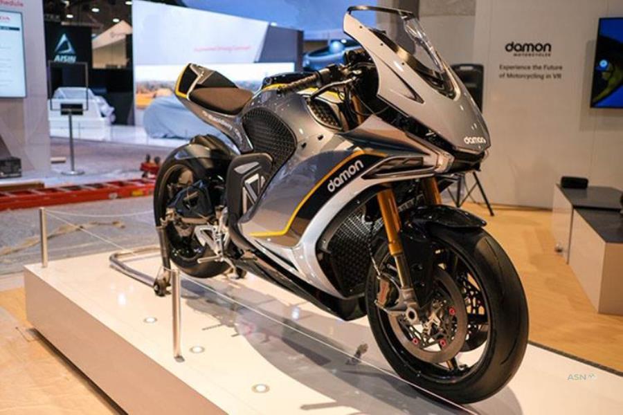 موتورسیکلت برقی دیمون هایپراسپرت HS