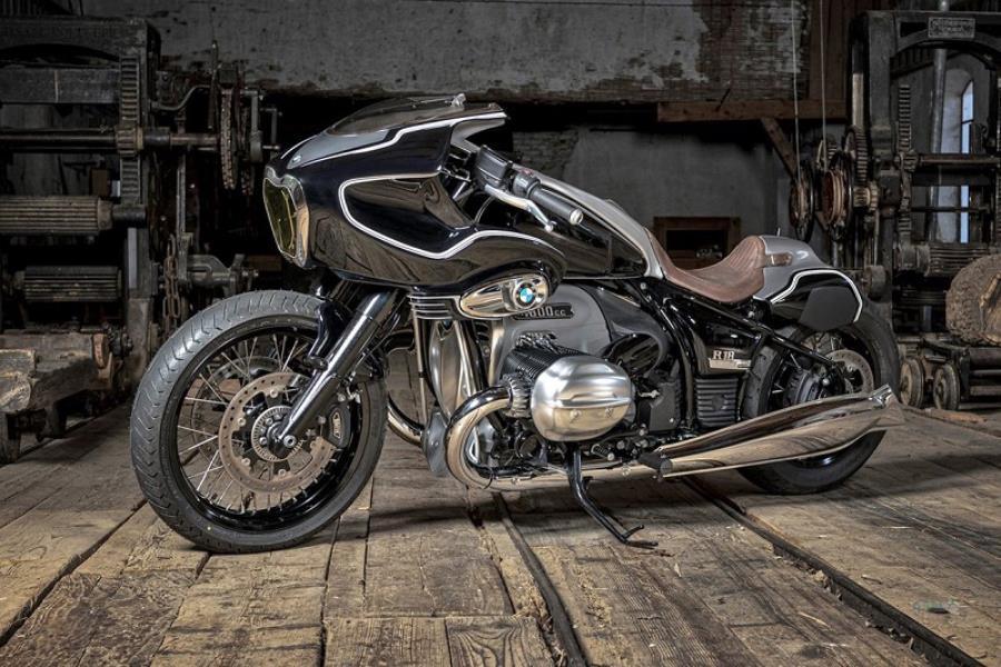 موتور سیکلت بی ام و R18 دست ساز